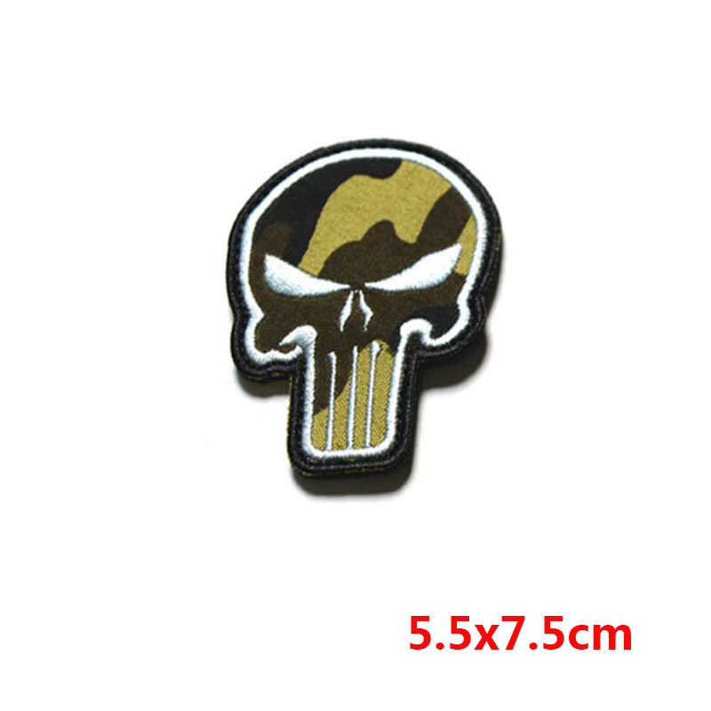 New Punisher Army Tactical Backpack Embroidery Armband Personalized Military Badge Apparel Hat Fabric Selling Well All Over The World Apparel Sewing & Fabric Special Price