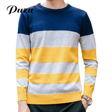 2017Nieuwe Herfst Mode Merk Casual Slim Fit Winter Patchwork Truien En Mannen Pullover Men Sweaters Truine Men Effen Kleur M-5XL