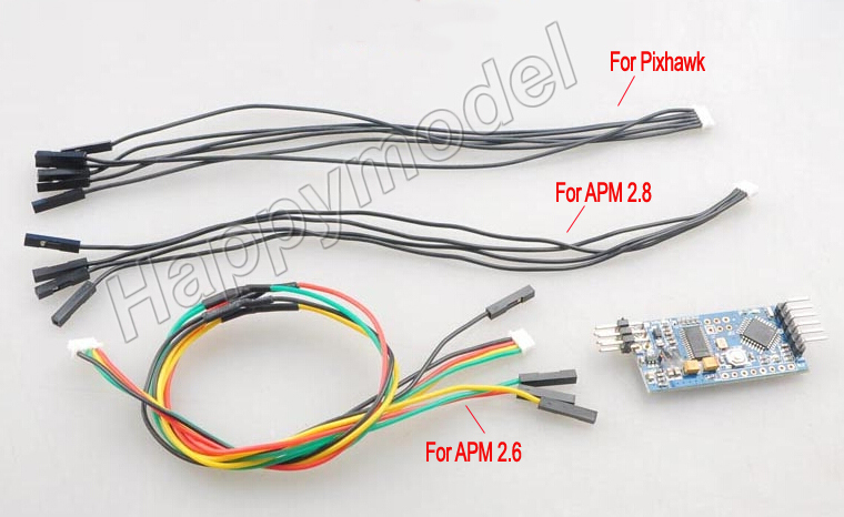 3 DRobotics MiniOSD/MinimOSD Junta mavlink osd para APM 2,6 2,8 Pixhawk PX4 controlador de vuelo