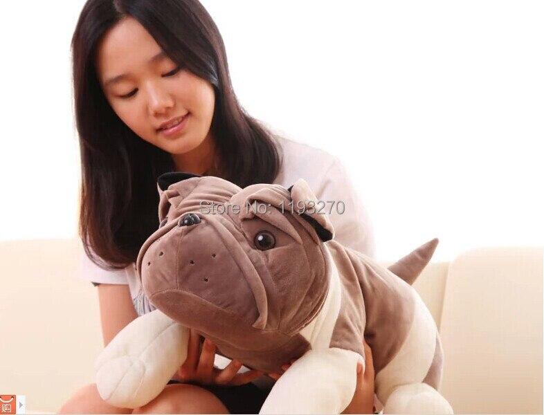 ФОТО large 70cm Sharpei dog plush toy simulation animal dog doll,throw pillow , birthday gift  w3835
