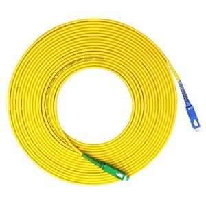 Image 2 - Cable de conexión de Fibra para Fibra Optica, Cable de parche de Fibra de 1m 2m 3m, puente FTTH Simplex de 2,0mm, SC APC to SC UPC G657A