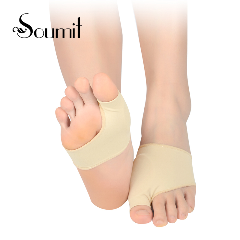 Soumit Gel Orthotic Overlapping Big Toes Correction Sock Flatfoot Massage Insole Foot Pain Relieve Pad Foot Care Cushion Insoles