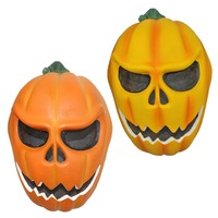 1 Piece Full Face 2015 Halloween Pumpkin Scary FRP Unisex Jack O Lantern Cosplay Masks Masquerade