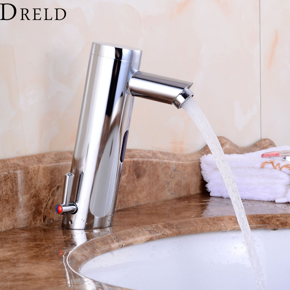 Motion Sensor Faucet Bathroom Faucet Single Handle Automatic Hand Touchless Tap Hot and Cold Mixer Bathroom Basin Sense Faucets pastoralism and agriculture pennar basin india