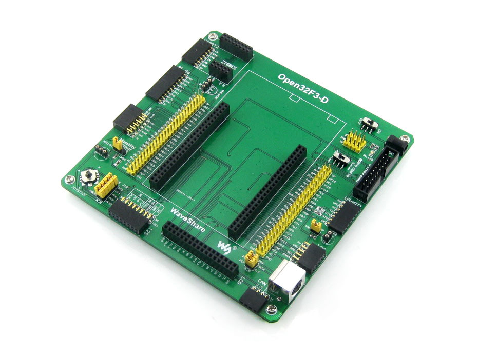 Waveshare STM32 Board STM32F3DISCOVERY STM32F303VCT6 ARM Cortex-M4 Development Board Kit Open32F3-D Standard