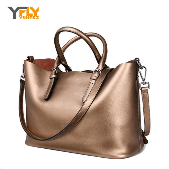 Luxury Genuine Leather Women Shoulder Bag Fashion Brand Designer Cowhide women handbags Real leather women bag mom gifts WL367