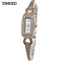 TIME100 Luxury Women Quartz Watch Analog Diamond Nacre Dial Ladies Chain Dress Bracelet Watces For Women relogio feminino