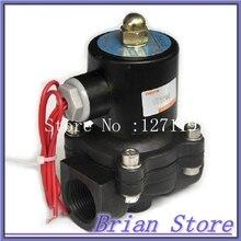 220В N/C ДУ25 1 «ABS Инженерных антикоррозионные пластиковые Воды топливный клапан электромагнитный клапан