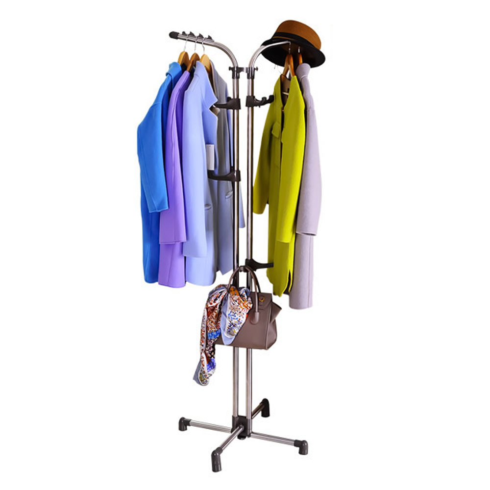 BAOYOUNI Novel Design Indoor Tripod Style Clothes Dryer/hall Tree Coat Rack DQ-0773