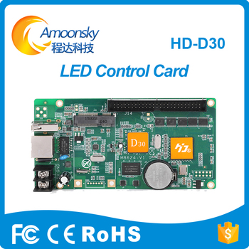 HD-D30 led sign control card for full color led module indoor outdoor led screen display panel controller image