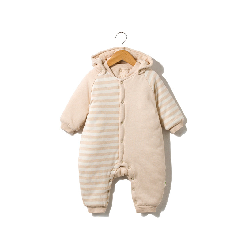 Newborn Rompers Maternal child supplies color cotton Boy girl conjoined  hooded sleeping bag was Infant jumpsuits baby clothing dudou angel love ho maternal and infant shops 0147