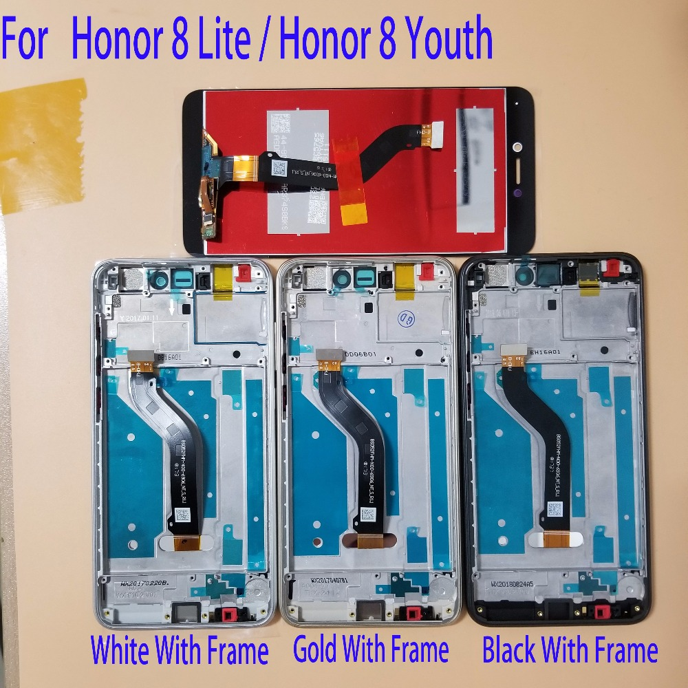 Tested 5.2 For Huawei Honor 8 Lite PRA-AL00 PRA-AL00X PRA-TL10 LCD Display Touch Screen Digitizer Assembly +Frame And ToolsTested 5.2 For Huawei Honor 8 Lite PRA-AL00 PRA-AL00X PRA-TL10 LCD Display Touch Screen Digitizer Assembly +Frame And Tools