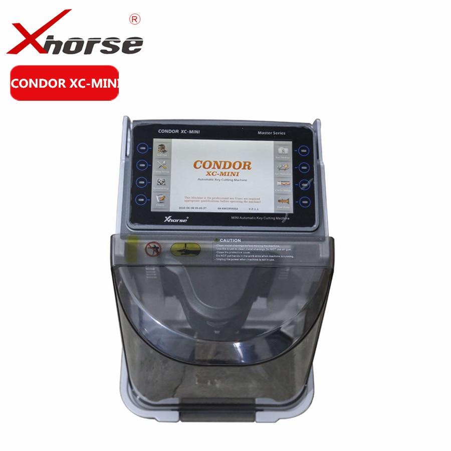 b3ada6a5d9f1 Xhorse IKeycutter CONDOR XC-MINI Master Series Automatic Car Key Cutting  Machine Update Online Get Free M4 Clamp
