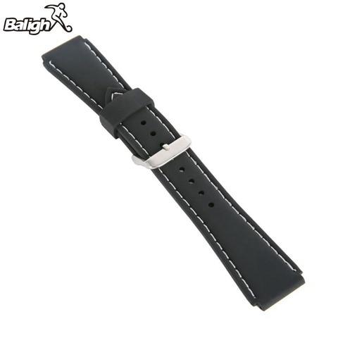 Newest Fashion Fashion Silicone  Watch Band Men Women Wristwatch Strap  18,20,22, 24mm Wrist Bracelet  Watches Accessories Multan