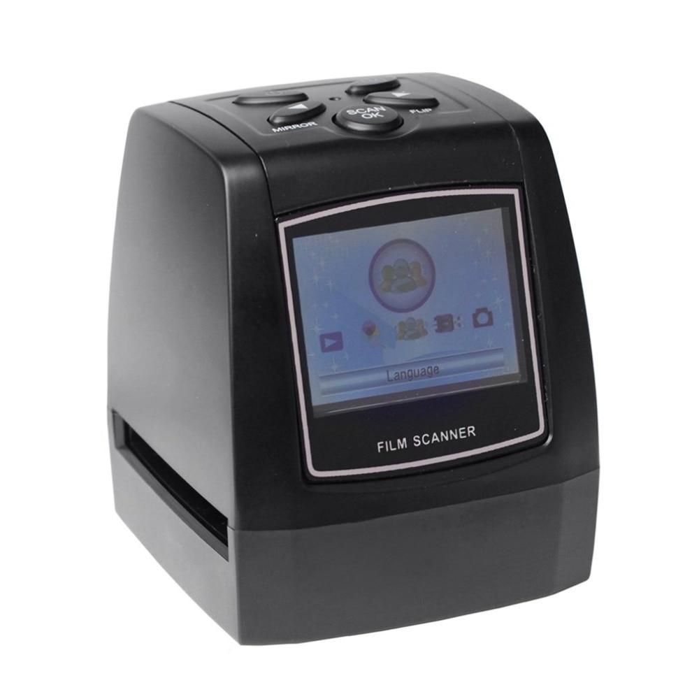 Film Scanner Digital USB 2.0 Film Converter Photo Scanner 35mm/135mm Slide 2.36