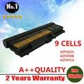 9 células de bateria para Lenovo ThinkPad L410 L412 L420 L421 L510 L512 L520 T520 T520i W510 W520 T410