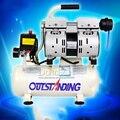 Envío libre de Aceite del compresor de aire compresor de aire dental Silencioso 550 W 8L bombas un coche pequeño con un bomba