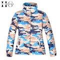 Hee grand mujeres chaqueta de invierno capa de la chaqueta de camuflaje fresco básica outwear manteau femme tamaño s-xl wwm932