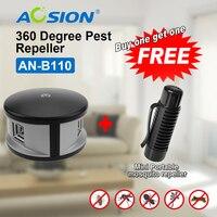 Aosion elektronik Haşere Kontrol Ultrasonik Fare Kovucu Ev Kemirgen Sıçan Kovucu (got bir protable sivrisinek kovucu ücretsiz)