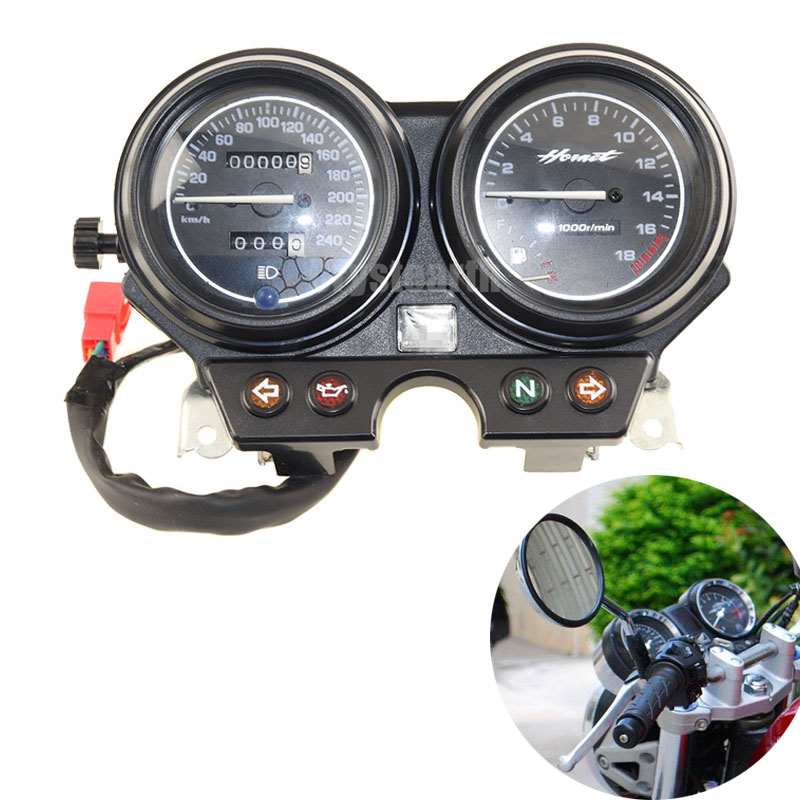 240 km/h Speedometer Tachometer Instruments Gauge For Honda Hornet 600 2000-2006 2001 2002 2003 2004 2005 Motorcycle Gauge Kit