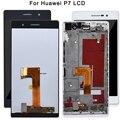 Для Huawei Ascend P7 ЖК-дисплей сенсорный экран с рамкой в сборе 5 дюймов ЖК-дигитайзер для Huawei P7 мобильный Замена протестирована