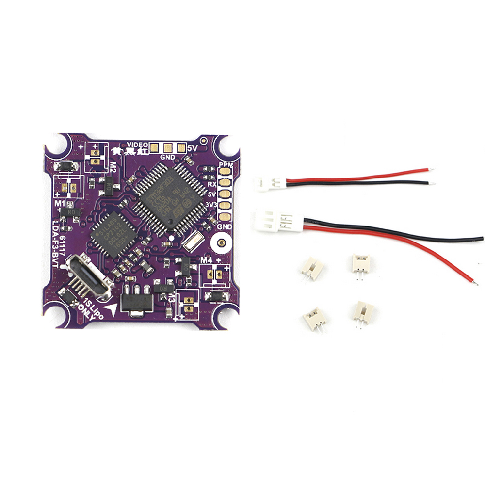 1pc Kingkong Integrated Board F3 Flight Control VTX Brushed ESC PCB for Tiny6 Tiny7 RC Racing