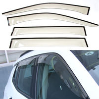 4Pcs Auto Car Window Deflector Wind Sun Rain Guards Cover Fit For Jeep Compass 2017