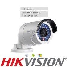 HIK 3MP HD IP camera Original English DS-2CD2032F-I True Day / Night Low Illumination Video Output IR Bullet Network Camera