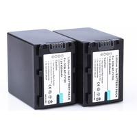 2PCS 4500mAh NP FV100 FV100 Batteries for Sony NP FV30 NP FV50 NP FV70 SX83E SX63E FREE SHIPPING
