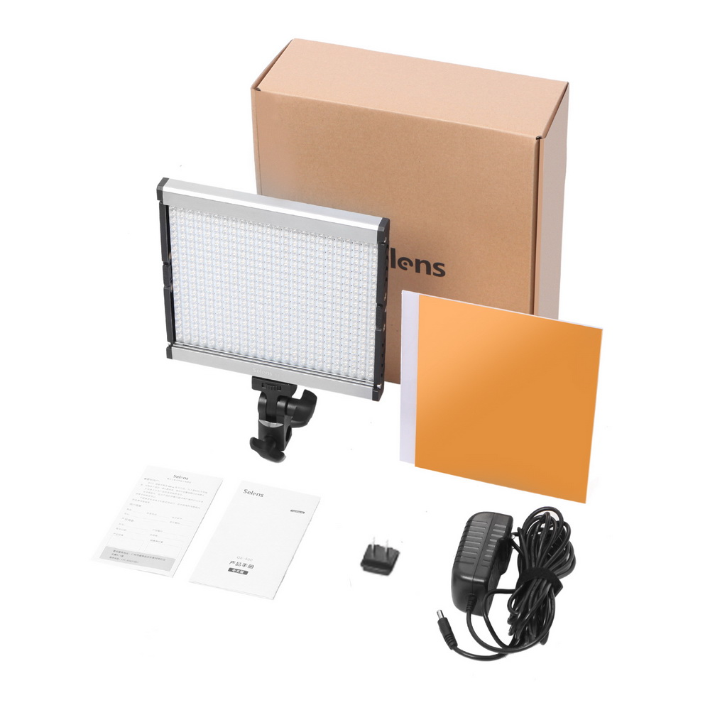 480 LED Video Light Studio Lighting Lamp 3200K/5600K Professional Photographic Lighting Set GE-500480 LED Video Light Studio Lighting Lamp 3200K/5600K Professional Photographic Lighting Set GE-500