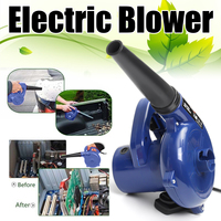 600W High Efficiency Electric Air Blower Handheld Computer Dust Collector Fan Vacuum Cleaner Dust Collecting Leaf Blower Remover