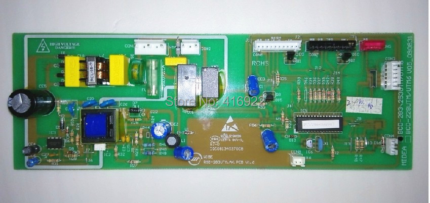 95% new good working 100% tested for Midea refrigerator pc board motherboard control board BCD283UTM on sale 95% new original good working refrigerator pc board motherboard for samsung rs21j board da41 00185v da41 00388d series on sale