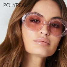 c2407ae7234 POLYREAL Vogue Sunglasses Women Brand Designer Fashion 2018 New Men Vintage  Oval Sun Glasses For Ladies Female Party