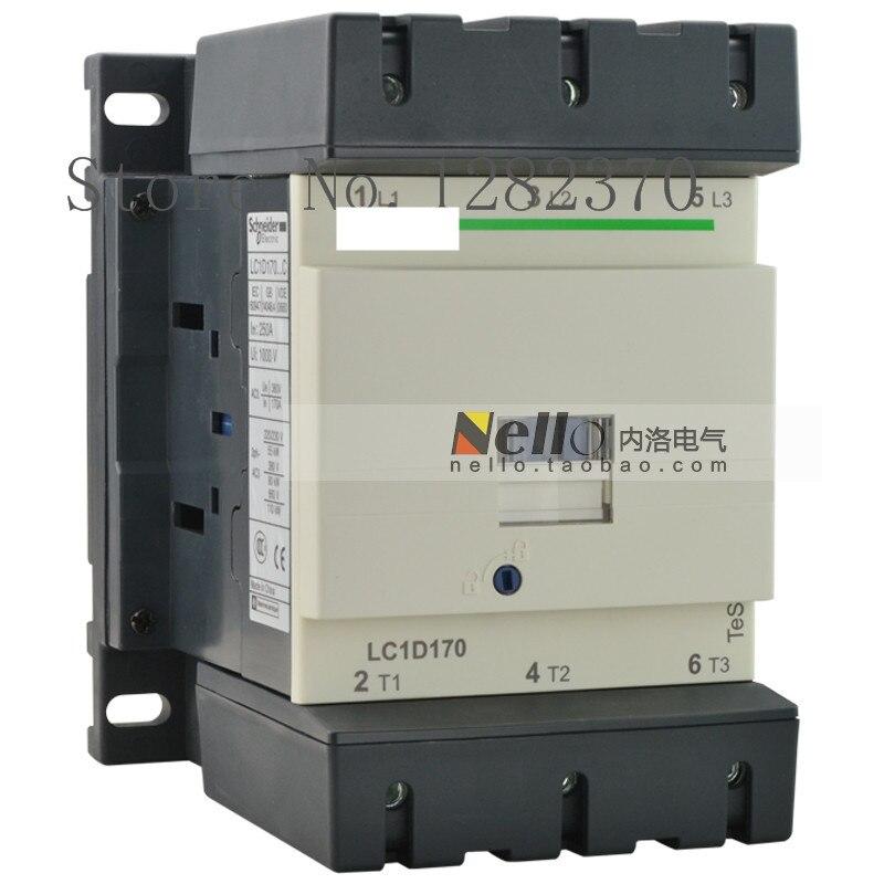 [ZOB] Authentic original contactor LC1D170 AC24V/36V/48V/110V/220V/380V AC contactor LC1D17000F7C/Q7C/C7C/M7C/B7C/E7C 90KW