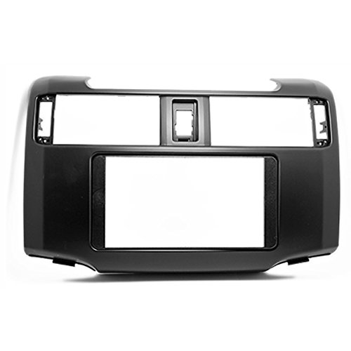 2 Din Car Radio Stereo Fascia Panel Frame DVD Dash Installation Kit for Toyota 4 Runner 2009+ with 173*98mm 178*100mm ityaguy fascia for ford ranger 2011 stereo facia frame panel dash mount kit adapter trim