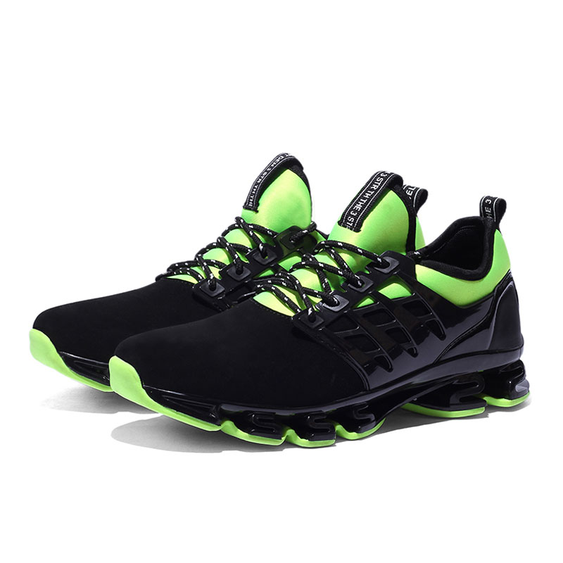 New Tide Men's Mesh Breathable Running Shoes Flat Shoes Men Sneakers Lace Up Comfortable Shoes Women Lovers Sport Shoes