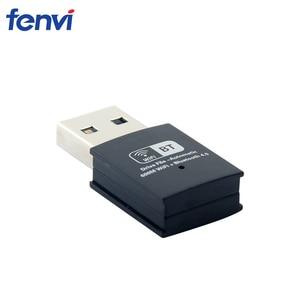 Image 2 - 600 300mbps のデュアルバンドミニ無線 LAN Usb 無線 Lan アダプタ RTL8821CU ワイヤレス Wi Fi 、ブルートゥース 4.0 ネットワークカード LAN ワイヤレスドングルウィンドウズ 7/8/10