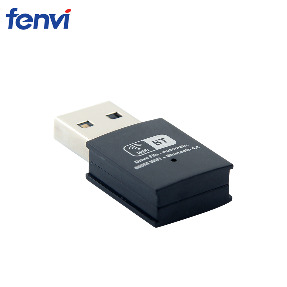 Image 3 - 600Mbps Dual band Mini WIFI USB Wlan Adapter Wireless Wi Fi Bluetooth 4.0 Network Card 5G LAN Dongle Receiver for Windows 7/8/10-in Network Cards from Computer & Office
