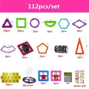 Image 4 - 90 182ピース/セットビッグ標準サイズ磁気モデル & ビルディングブロックレンガデザイナーおもちゃ16異なる子供のためのセット誕生日ギフト