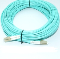 Free Shipping 25m LC LC Fiber Optic Patch Cord Cable OM3 Duplex Multimode Fiber Jumper LC/UPC LC/UPC