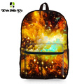 "18.7"" Women Girls Travel Backpack Children Rucksack Mochila Feminina Leisure Galaxy Star Universe Space Printing Bag for Teenage"