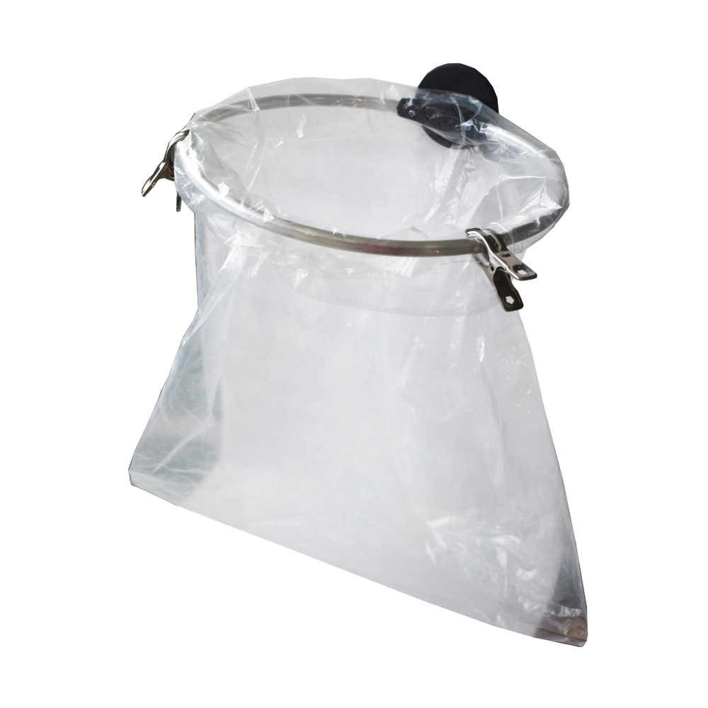 Portable Plastic Trash Bag Holder For Kitchen, Grill, Recycle With Powerful Magnets- No Bag