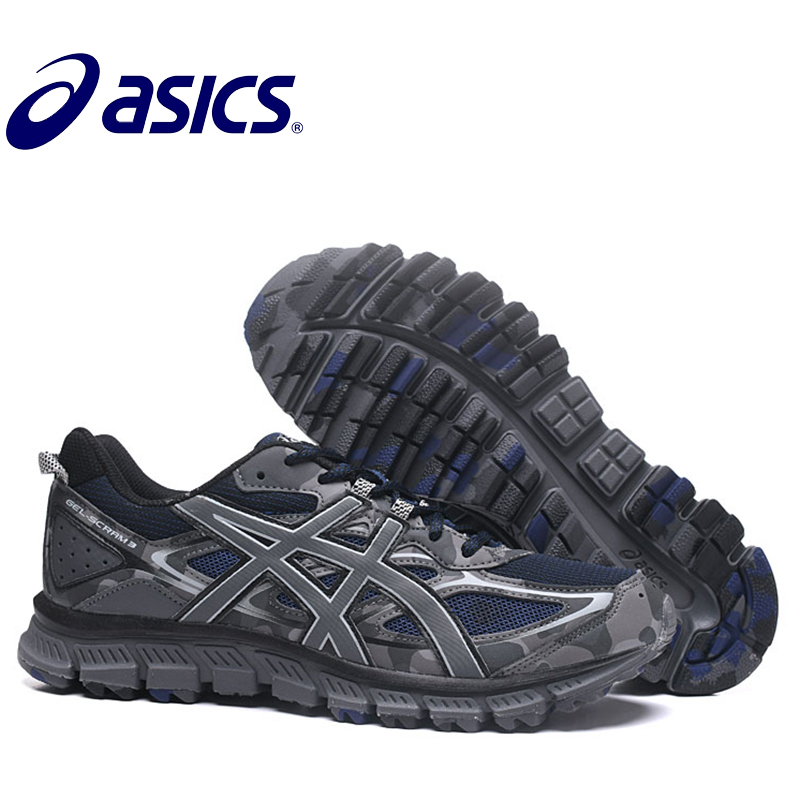 2018 New Hot Sale Man's ASICS GEL-SCRAM 3 Stability Running Shoes ASICS Sports Shoes Sneakers Outdoor Activities Hongniu asics tiger gel lyte iii lc