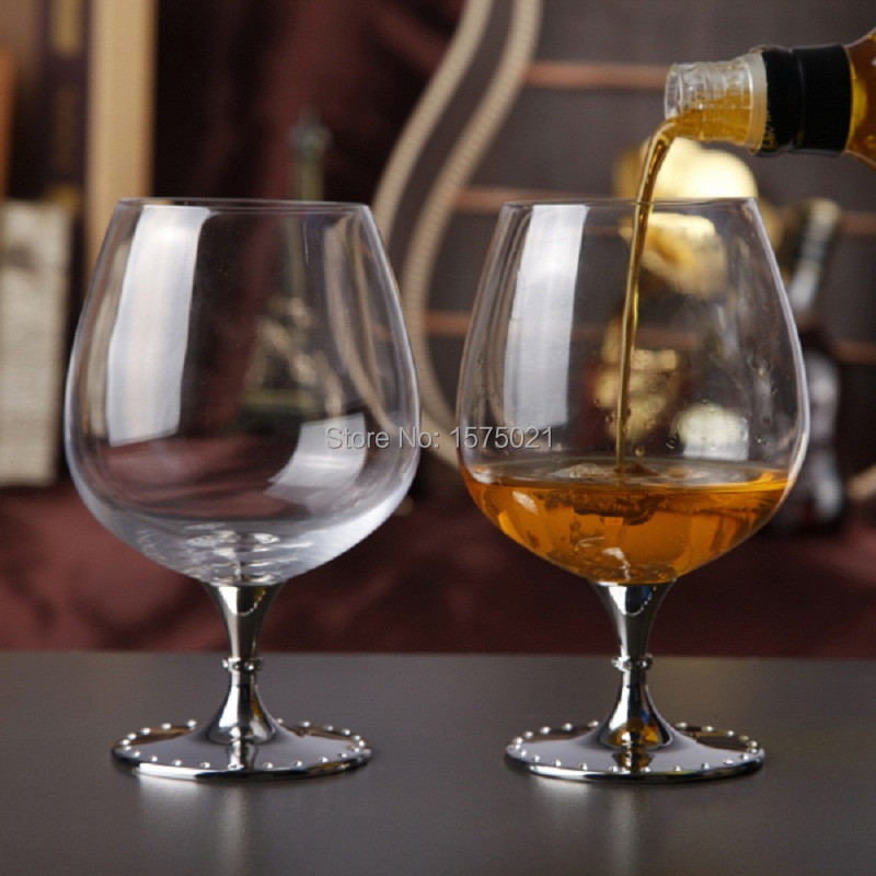Delightful Wine Glasses For Sale Part - 3: 2016 Hot Sale Clear Crystal 626ml Drinking Wine Glasses With Metal Stem