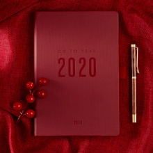 2019 2020 Notebook Planer Agenda A5 Daily Note Meeting Business Journal Weekly Schedule School Supplies Stationary Gift