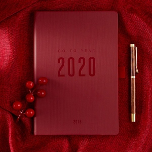 Image 1 - 2019 2020 Notebook Planer Agenda A5 Daily Note Meeting Business Journal Weekly Schedule School Supplies Stationary Gift