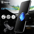 Baseus Car Phone Holder Air Vent Mount Holder Stand 360 Degree Ratatable Phone Car Stand Universal For iPhone Samsung