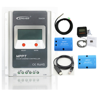 EPEVER TRACER MPPT 20A Solar Charge Controller 12V 24V LCD Diaplay Solar Regulator EPsloar And RS485