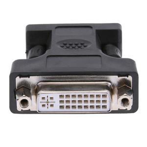 Image 4 - 24 + 5Pin DVI żeńskie do 15Pin VGA męski przedłużacz do przewodów złącze adaptera do komputer stancjonarny HDTV monitor crt projektor konwerter