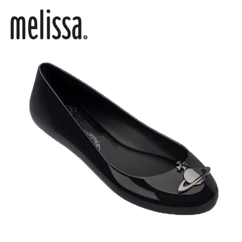 Sapatos Melissa Mulheres Sandálias 2019 Novas Mulheres Planas Marca Sapatos Para As Mulheres Sandálias Da Geléia de Melissa Adulto do Sexo Feminino Sapatos de Geléia Mulher